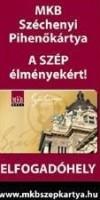 MKB Széchenyi Pihenő Kártya (Szép kártya)